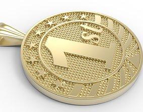 medallion pervi 3D print model