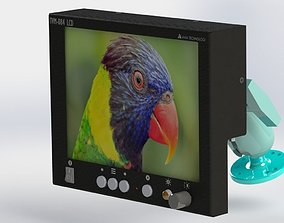 3D LCD Monitor Aviation shockproof