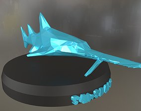 Poly Saw shark 3D printable model