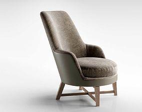 Guscio Soft Armchair 3D