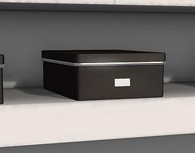3D asset Square Wardrobe Storage Box