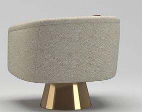 Jonathan Adler Lounge Chair 3D