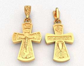 Krest-cross 3D print model christianity