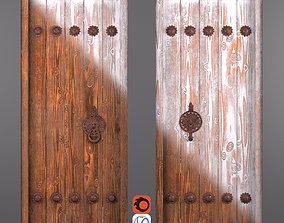 3D asset Traditional Iranian Door