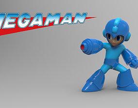 Megaman 3D print model