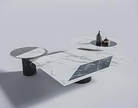 coffe table proiezioni 3D PBR