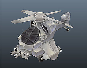 3D model Low Poly Micro Heli