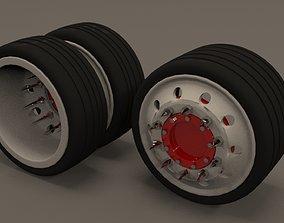 truck wheels rims model and stl