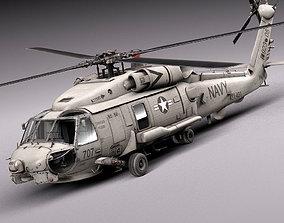 aircraft Sikorsky SH-60 Seahawk 3D model