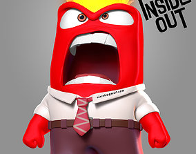 Anger - Inside Out Fanart 3D printable model