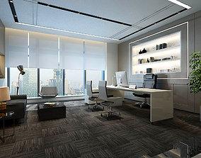 boss manager office 17 3D model