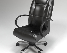 3D model leather office chair vray