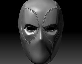 Deadpool Mask With Changable Lenses 3D Printable Model 1