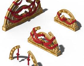 Accessories - Wedding decorations 01 3D
