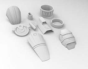 Old Republic Lana Beniko 3D printable model