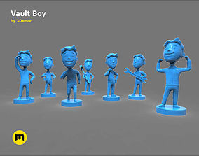Vault Boy 3D print model