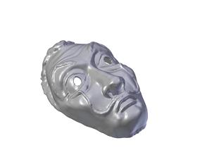 Money Heist La casa de papel Dali 3D print model