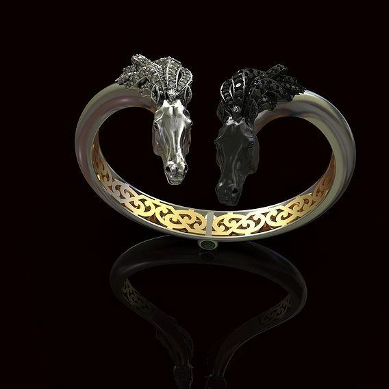bracelet ,, horses ,,