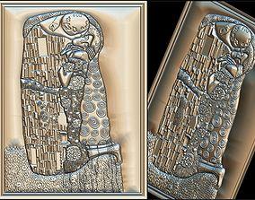Gustav Klimt The Kiss for CNC 3D Router 3d