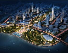 City Planning 3D road