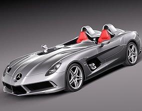 Mercedes Benz SLR Stirling Moss Concept Car 3D