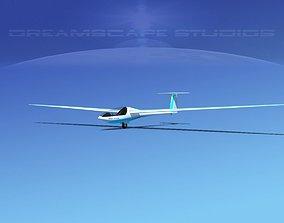 3D Glaser Dirks DG200 15Mtr Sailplane V09