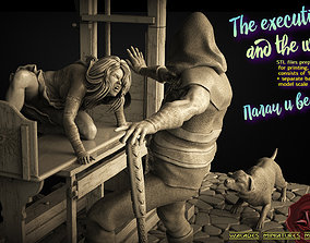 3D print model The executioner and the witch