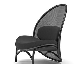 TON Launches the Chips Lounge Chair by Lucie Koldova 3d 1