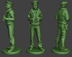 3D printable model US Navy Officer ww2 Binoculars USN1