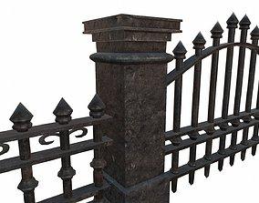 3D model Graveyard Exterior Pack