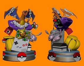 Pokemon Diorama STL for 3d Printing