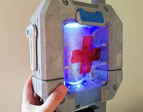 Healthpack box style overwatch 3D print model