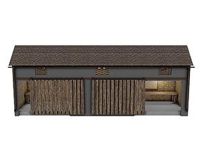 Barn Old 3D model