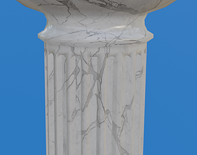 Marble Column 3D model