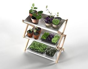 Creative Plant Shelf 3D