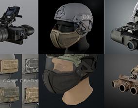 3D Helmet tactical gear 2