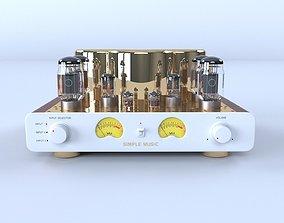 Tube Amplifier high-end 3D model