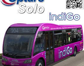 3D model Optare Solo IndiGo livery bus