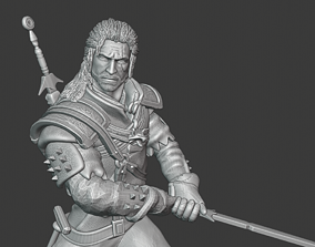 Witcher 3D printable model