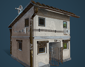 house Old House 3D asset realtime