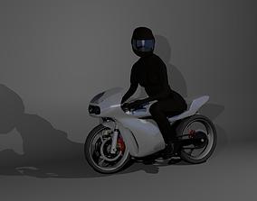 3D model Motogerl