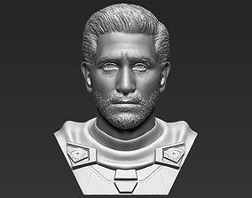 Mysterio Jake Gyllenhaal bust 3D printing ready stl obj