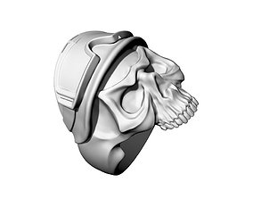3D print model skull helmet