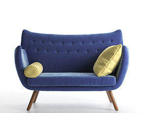 3D 2 Seater Sofa