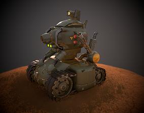 Metal Slug Tank SV-001 3D asset