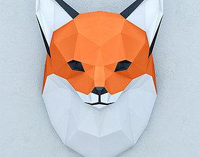 architectural 3D model FOX PAPER HEAD
