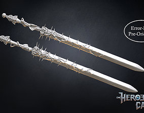 3D printable model Blasphemous - Mea Culpa Sword