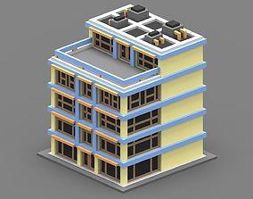 3D model House Voxel - 1