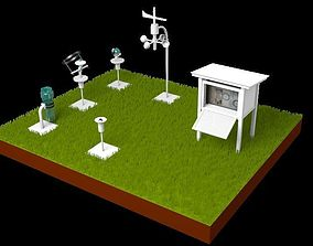 Weather Station 3D model