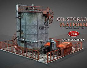 3D model Oil Storage Platform